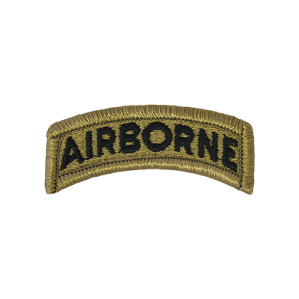 Airborne Tab Scorpion With Fastener Military Patch