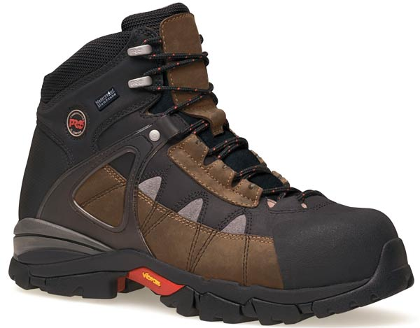 Timberland Hyperion Brown Safety Toe Work Boot