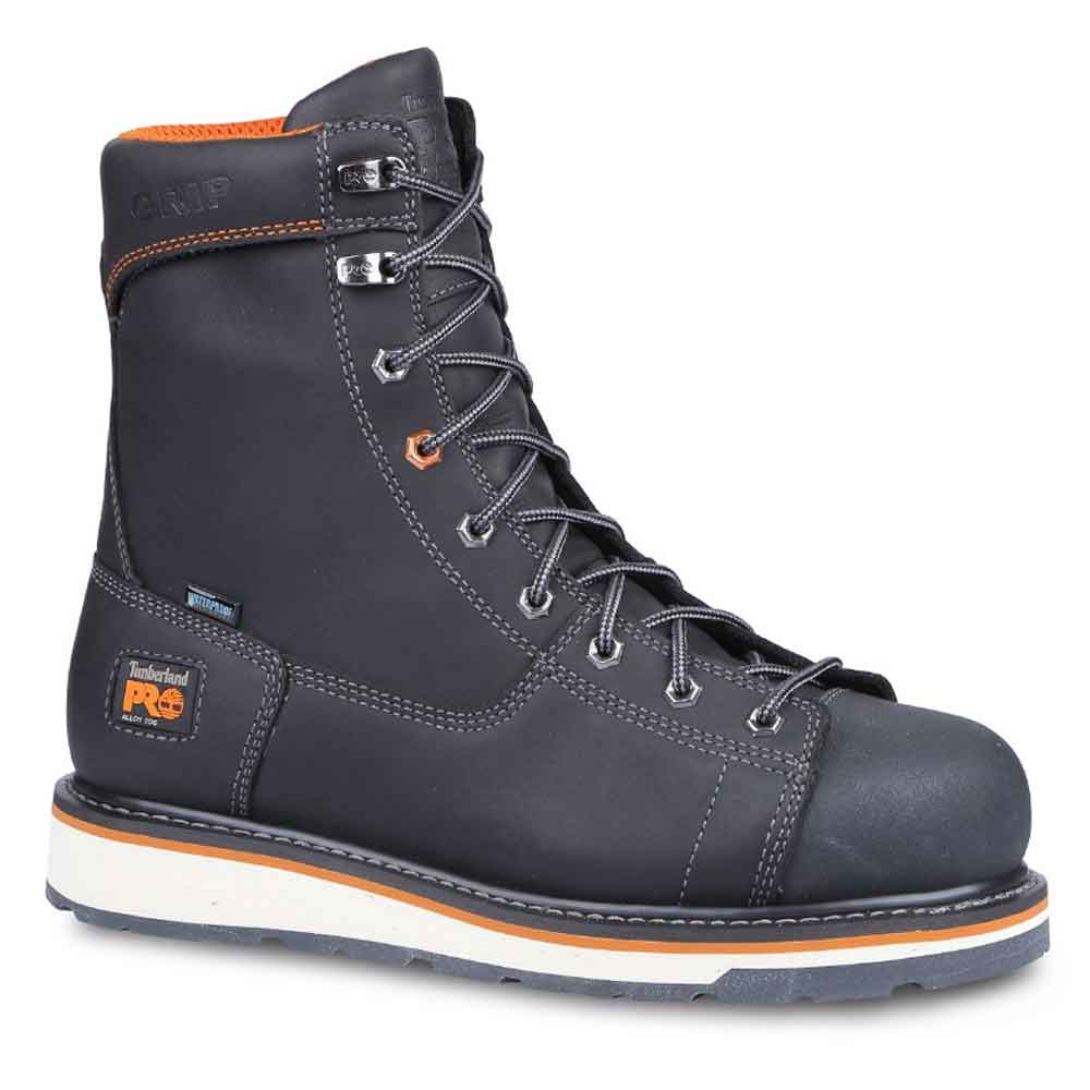 Timberland Pro Gridworks Black Wp Work Boot Tb0a16ss001