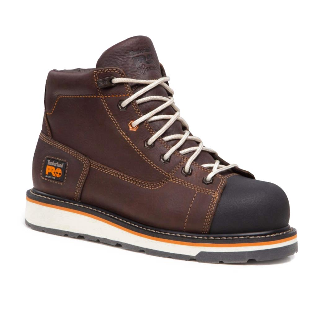 Timberland Pro Gridworks Brown Wedge Work Boot