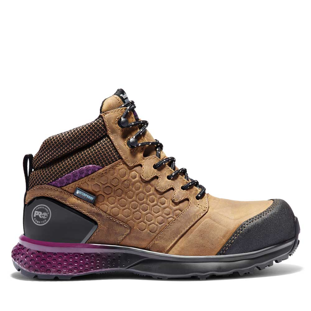 Timberland Pro Reaxion Mid Ladies Brown