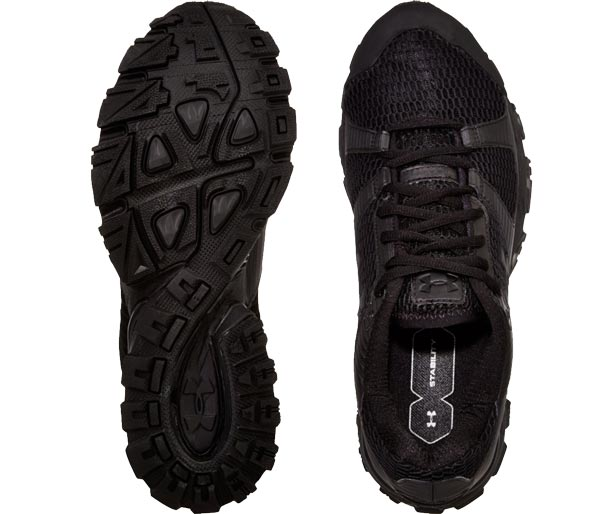 066c2c1e517 Mirage Black Trail Running Shoe by Under Armour Shoes
