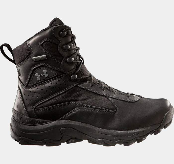 Speed Freek Black Gore Tex Tactical Boot By Under Armour