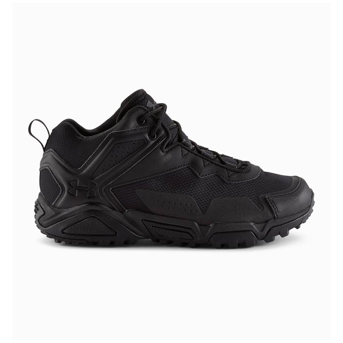 Ua Tabor Ridge 1254924 Waterproof Black Tactical Athletic Shoe