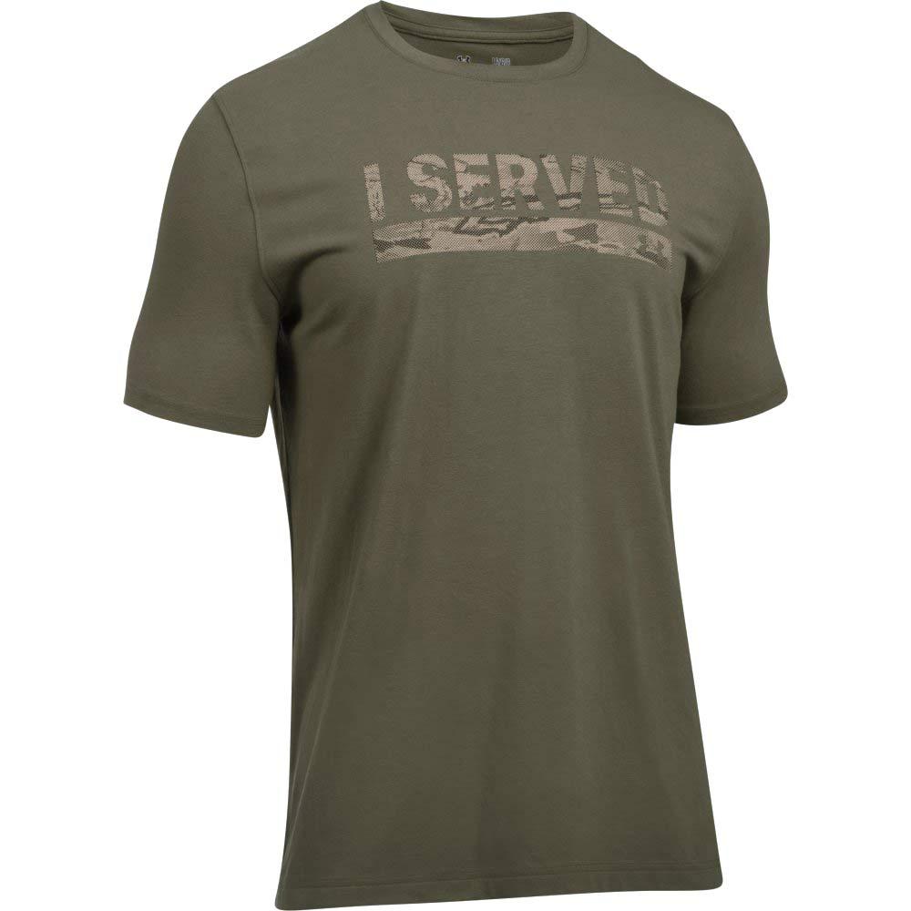 e49249b137 UA I Served Military Veteran T-Shirt