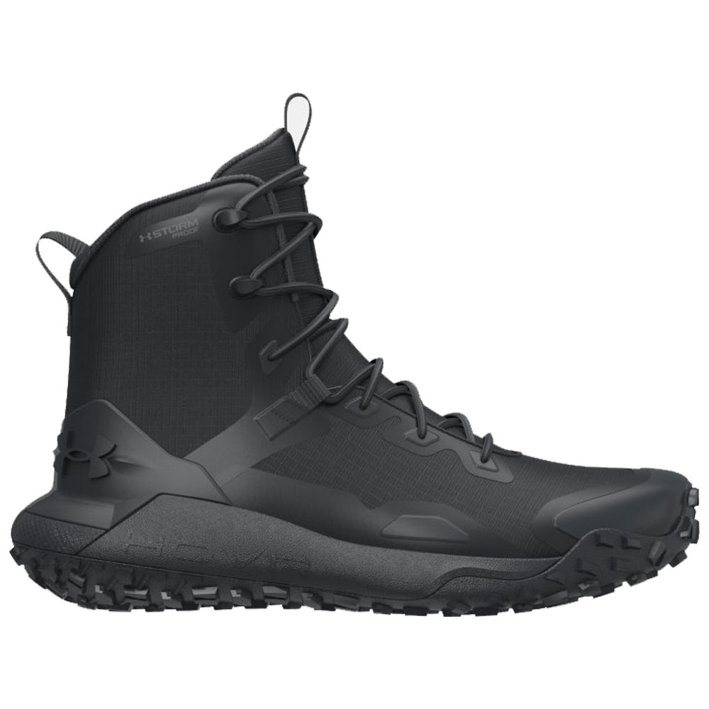 foso tolerancia cristiano  Under Armour HOVR Dawn Mid Black Waterproof Tactical Boot