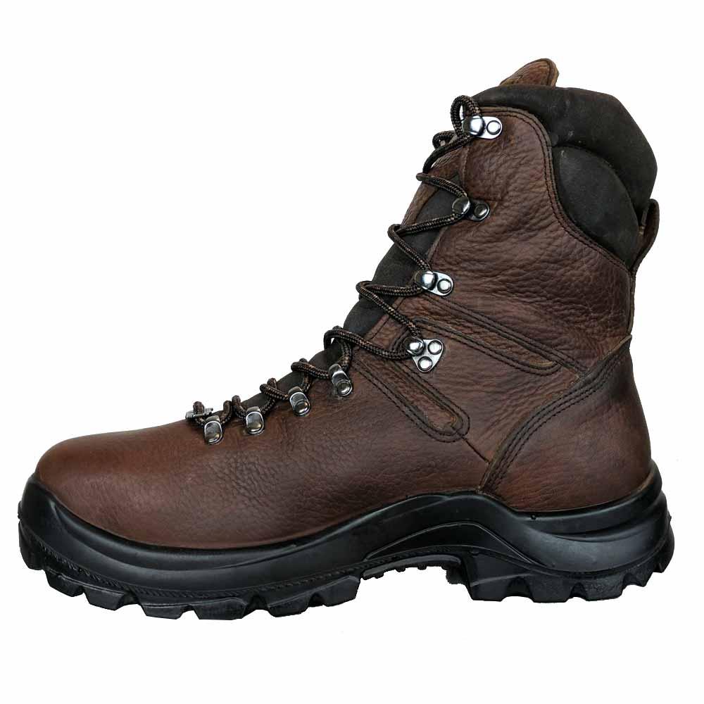 7a115fa5372 Thorogood Omni 8-Inch Brown Waterproof Steel Toe Work Boot