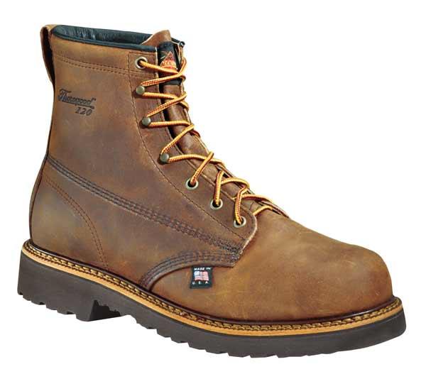 6709e2ce552 Thorogood 804-3366 Plain Toe 6-inch Steel Toe Work Boots