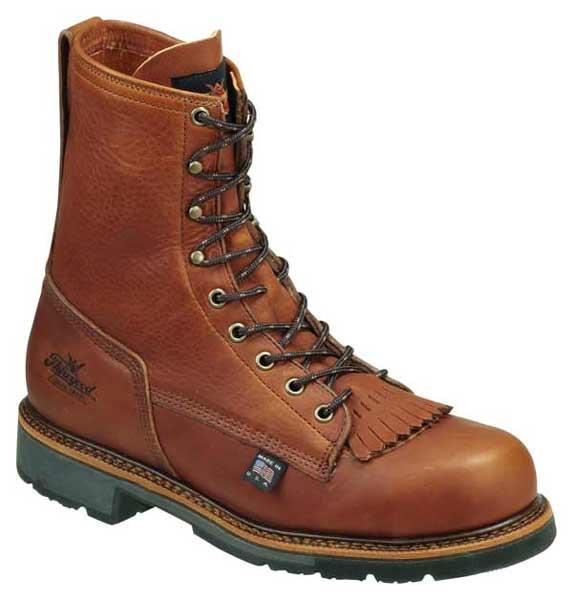 b2e9793ae0d Thorogood 804-4821 8-inch American Made Steel Toe Work Boots