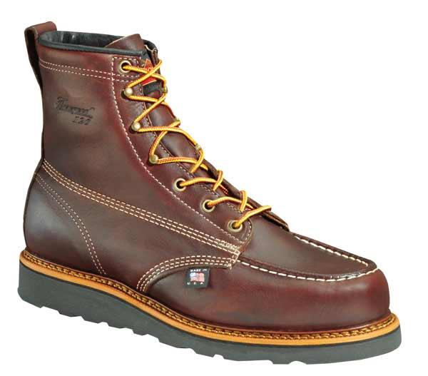 Thorogood 6-inch Walnut Brown Moc Toe