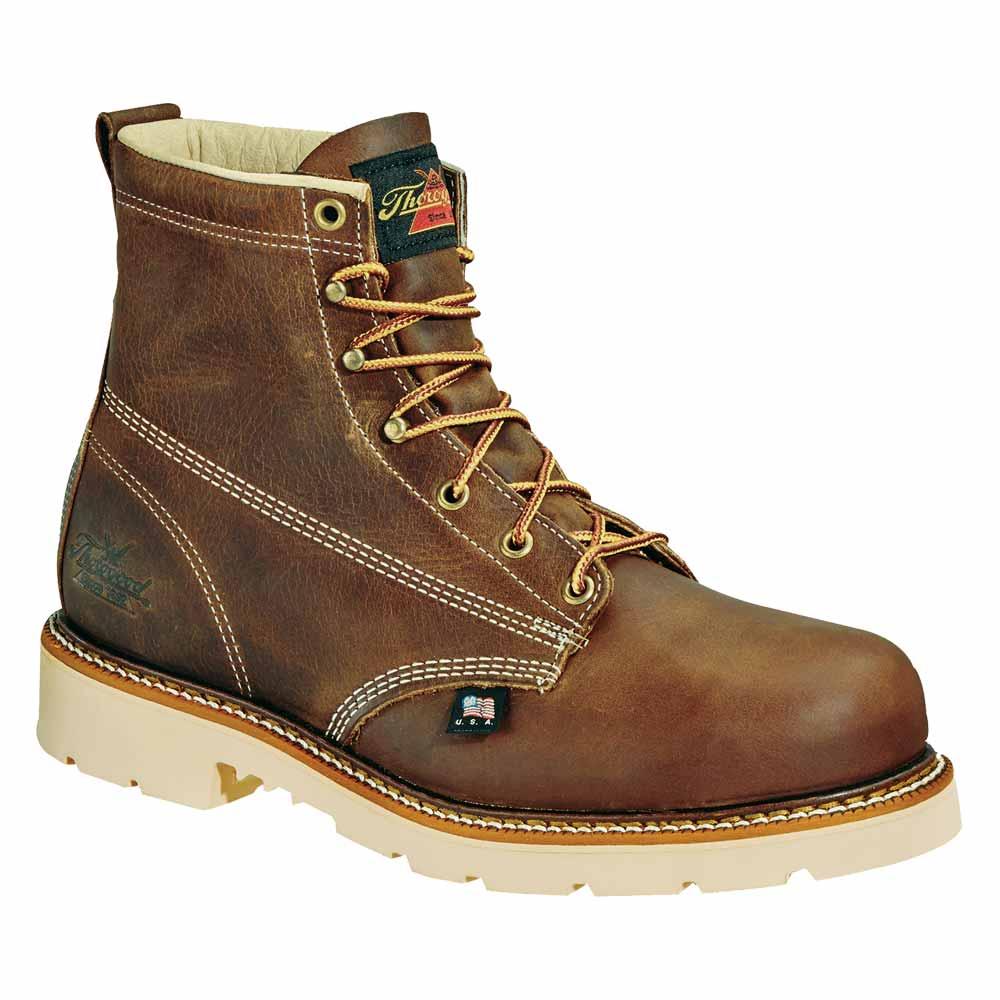 Thorogood 6 Inch Plain Toe Us Made Work Boot 814 4370
