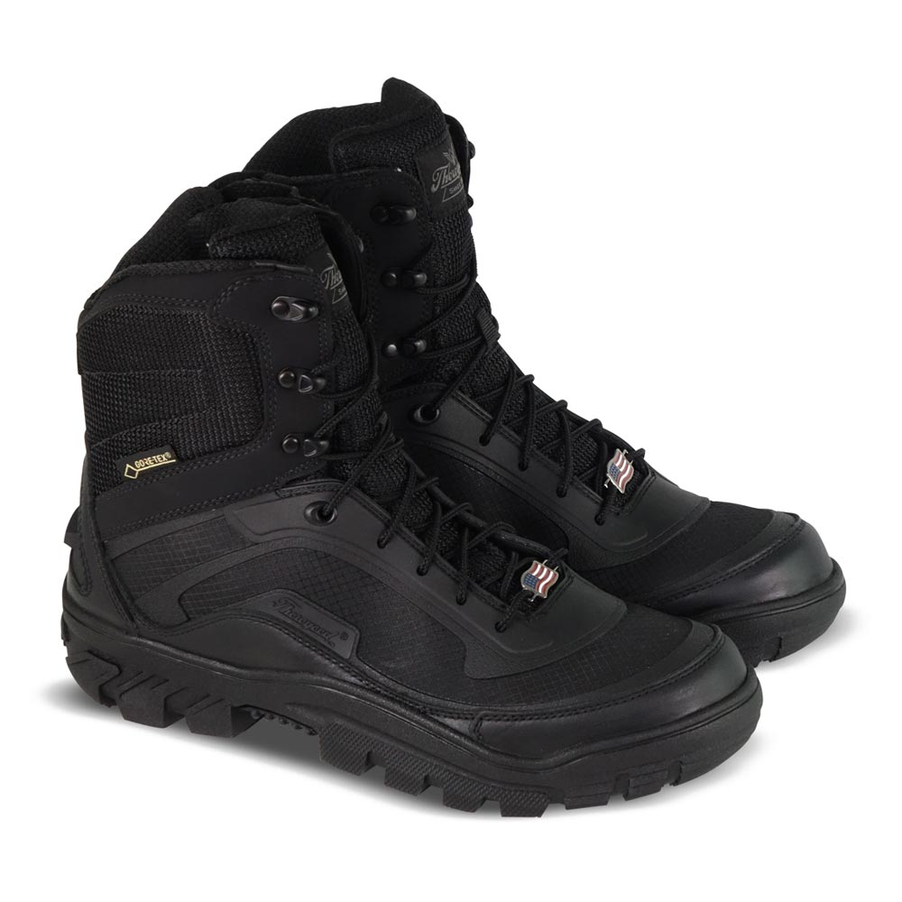 af9e68bf5e8 Thorogood Veracity Waterproof 7-Inch Black Side-Zip Tactical Boot