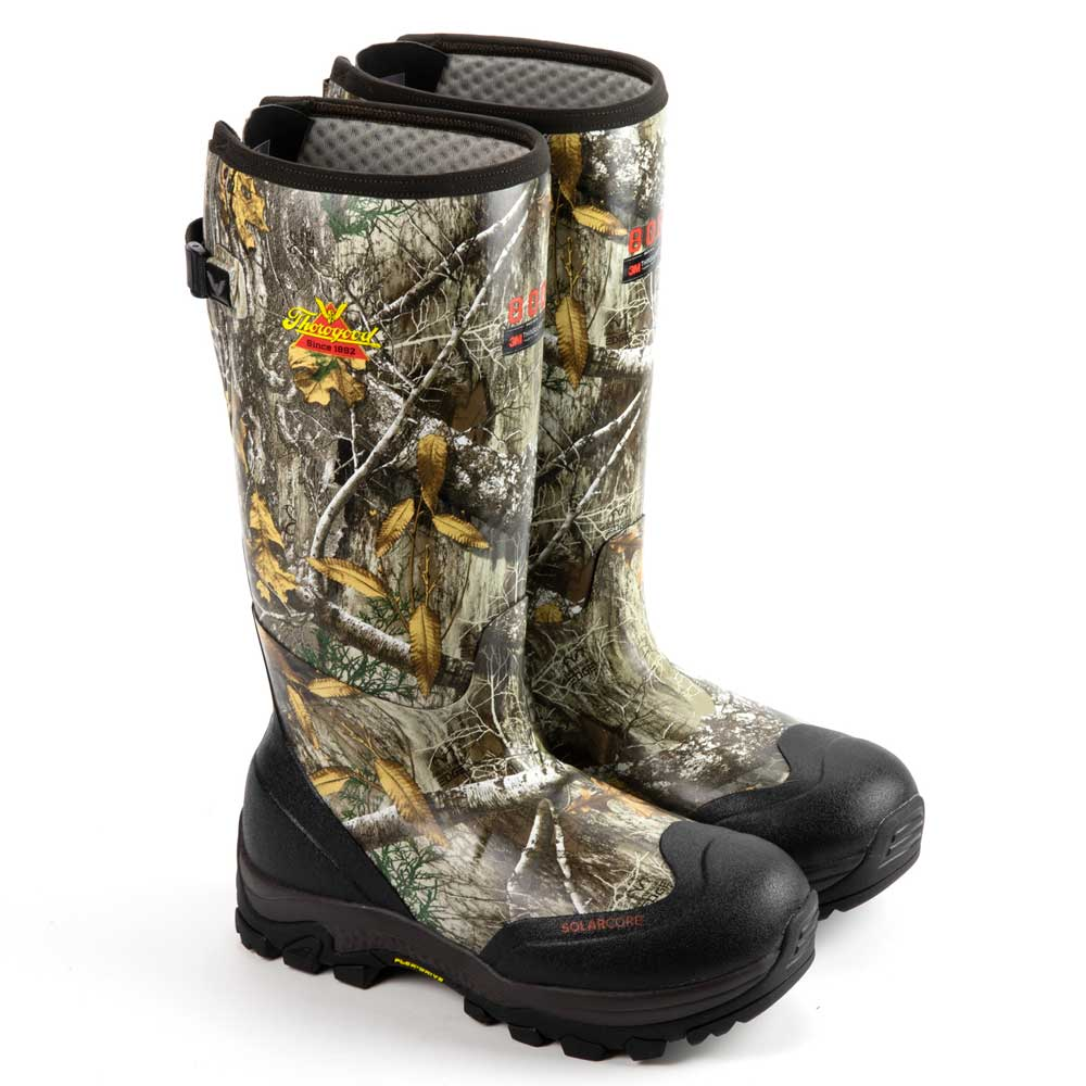 RealTree Edge 800G Waterproof Rubber Boots