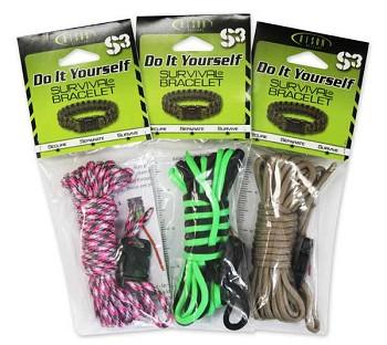 Do It Yourself Paracord Bracelet Kit