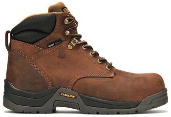1af27f20932 Men's Carolina CA5520: 6-inch Waterproof Composite Broad Toe Work Boot -  Copper Crazy Horse