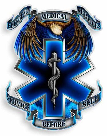 Ems Eagle Sticker Ems Star Of Life Decals