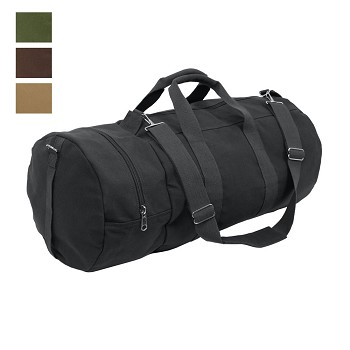 86755739fa7 Vintage Military Style 30 in Canvas Duffel Bag