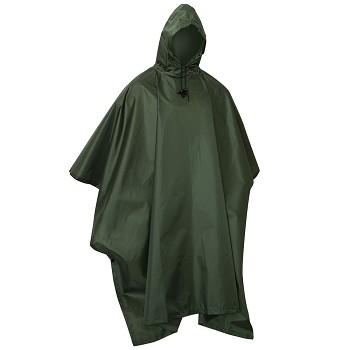 GI Style Olive Drab Military Ripstop Rain Poncho cbaeba619