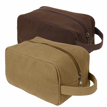 Military Style Canvas Toiletry Bag