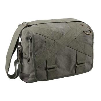 Outback Vintage Canvas Military Messenger Bag e038f99ff18
