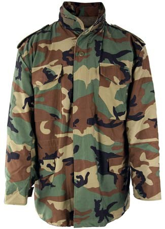 08f8a9c39fb Woodland Camo M-65 Field Jacket with Liner