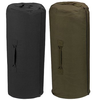 21 x 36 Full Zip Military Duffle - Canvas Duffel Bag efd3b10400ce3
