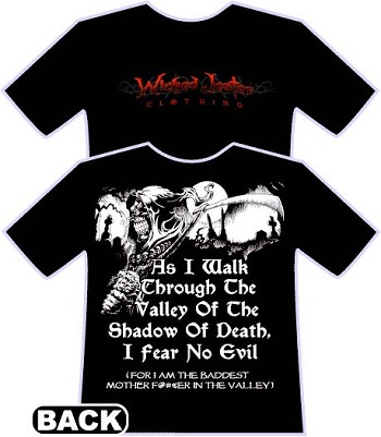 Wicked Jester Baddest mother f  %er in the Valley T-Shirt 25ae1e719